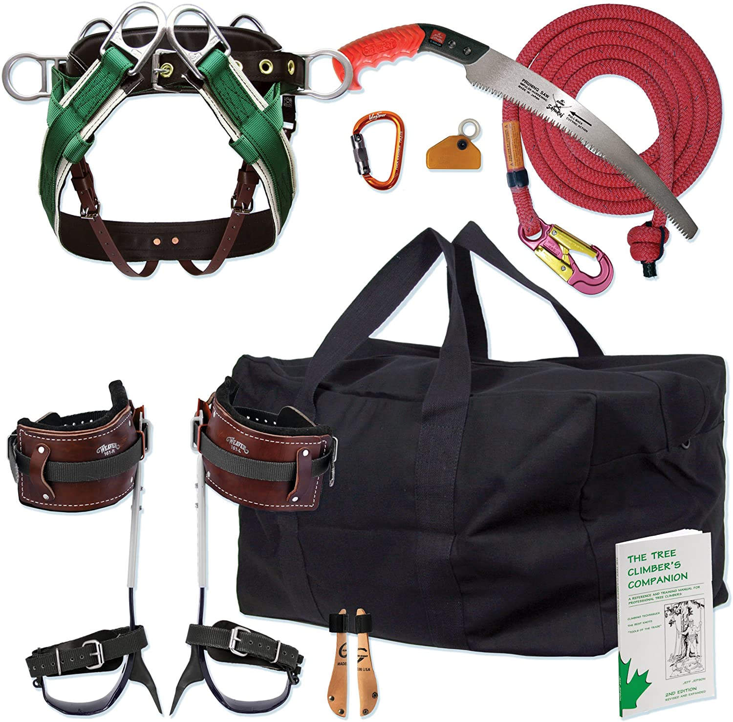 11 Best Tree Climbing Gear Kit in 2021 That You Need to Carry-Entry-Level Spur Kit