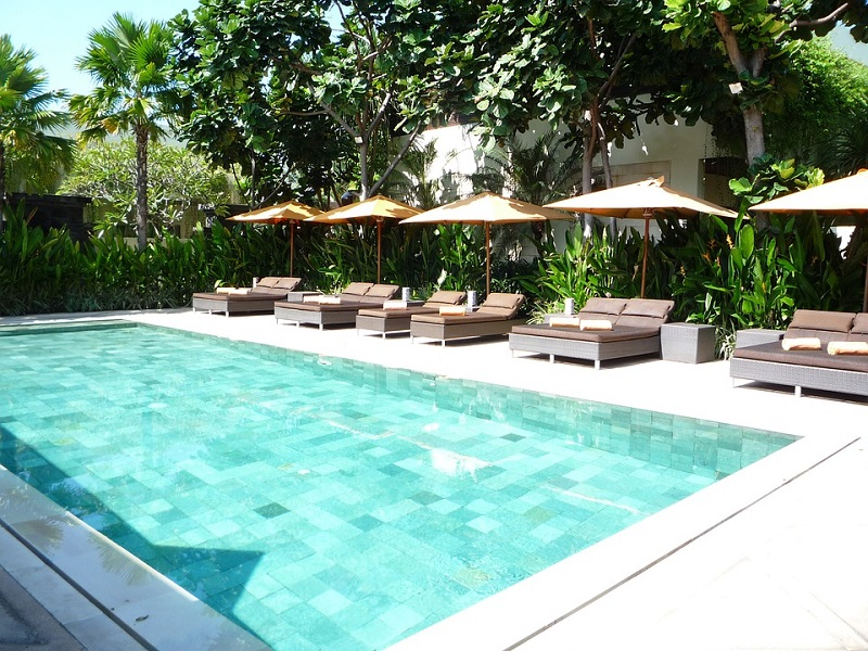 Tropical Backyard Decoration, Invest in An In-Ground Pool