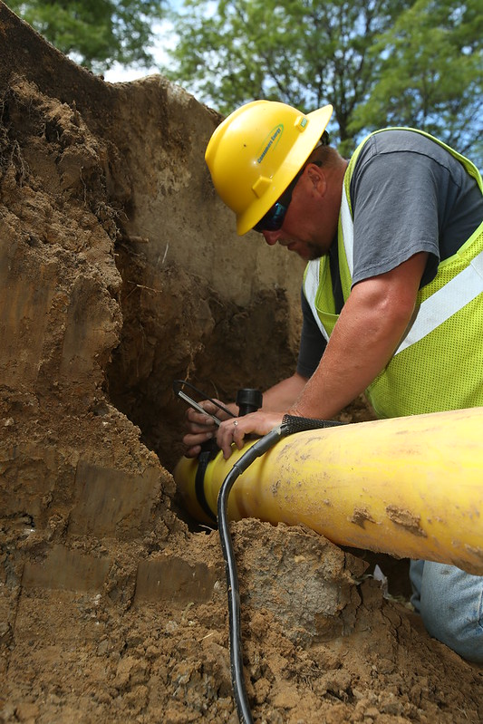 How deep are gas lines buried, really?