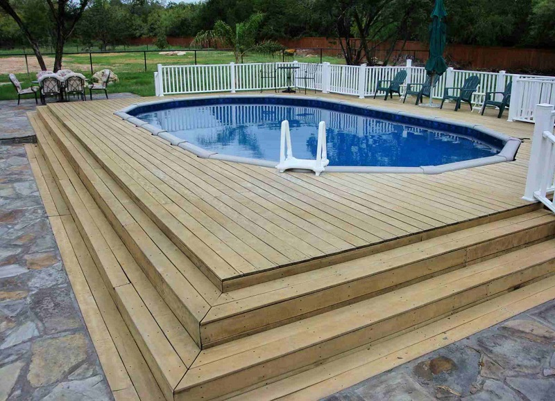 Decked pool