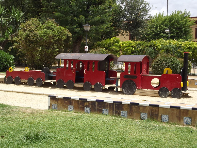 Build your own rideable train in your backyard
