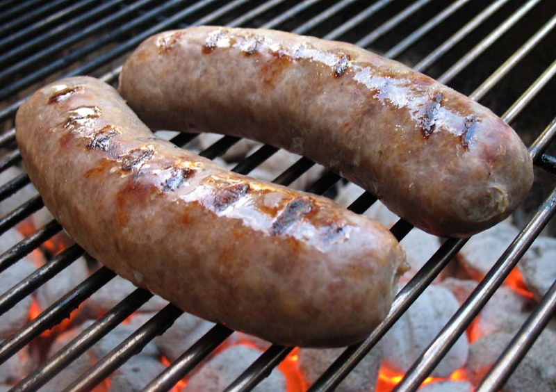 Know when brats are done when grilling them