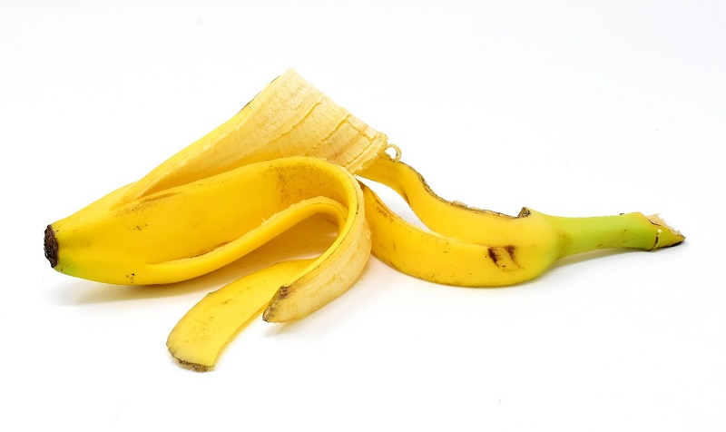 how to use banana peels in the garden