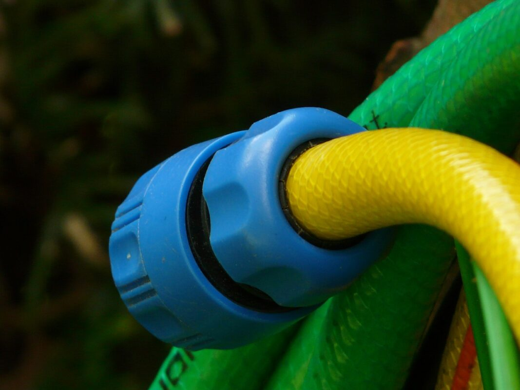 One of the ways on how to remove a stuck garden hose
